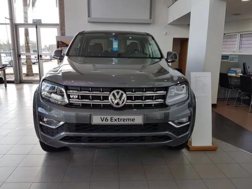 volkswagen amarok 0km v6 extreme financio 258cv nueva 2020