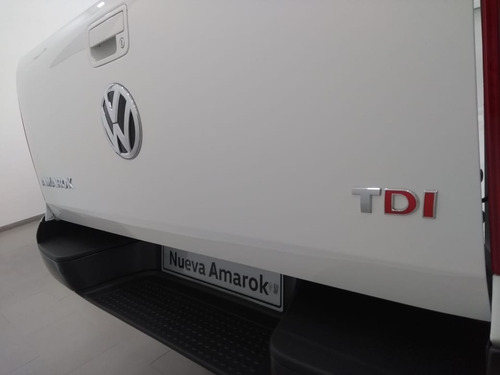 volkswagen amarok 2.0 4x2 cd tdi 180cv comfortline la chata!