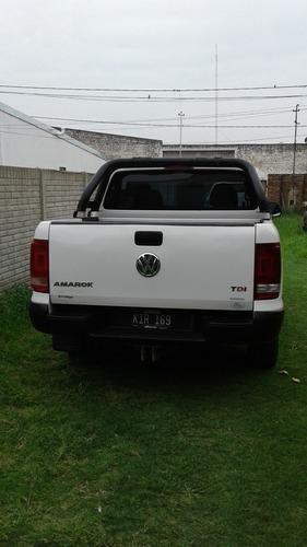 volkswagen amarok 2.0 4x2 starline primera mano
