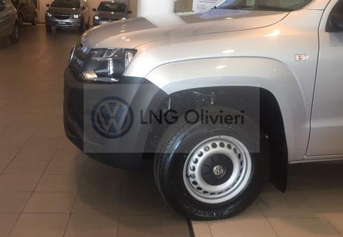volkswagen amarok 2.0 cabina simple trendline 2018 0km