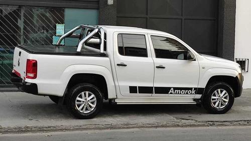volkswagen amarok 2.0 cd tdi 140cv 4x2 startline 2015nueva!!