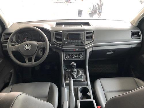 volkswagen amarok 2.0 cd tdi 140cv trendline 0km vw 4x2 2020