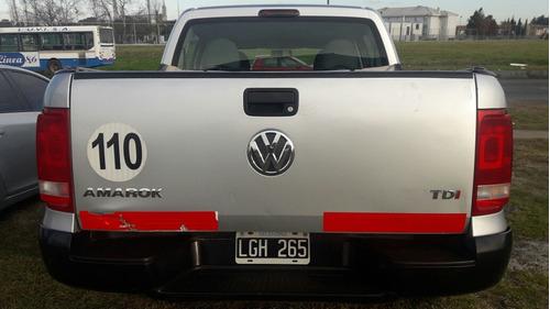 volkswagen amarok 2.0 cd tdi 163cv 4x2 startline año 2012