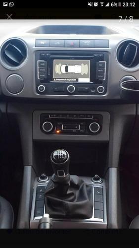 volkswagen amarok 2.0 cd tdi 180cv 4x2 highline  b33 2015!!!