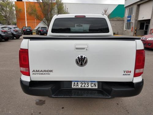 volkswagen amarok 2.0 cd tdi 180cv 4x2 trendline at 2016