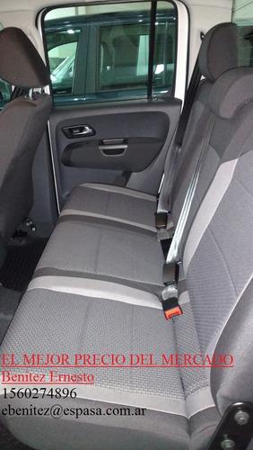 volkswagen amarok 2.0 cd tdi 180cv comfortline 4x4 eb #12