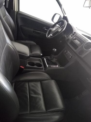 volkswagen amarok 2.0 cd tdi 4x4 highline cuero 1hc 2011