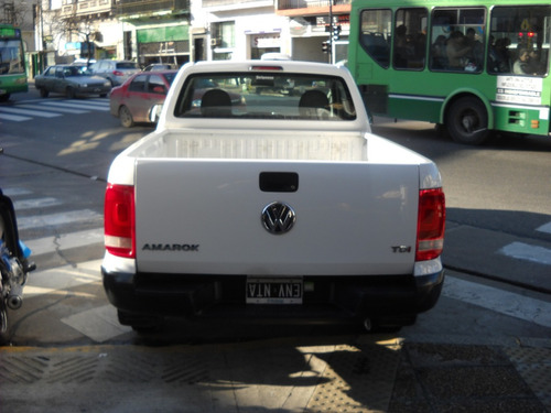 volkswagen amarok 2.0 cs tdi 140cv 4x2 startline 2014-blanca
