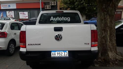 volkswagen amarok 2.0 cs tdi 140cv trendline 4x2 0 km 2019 1