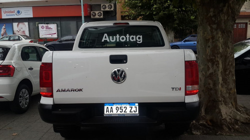 volkswagen amarok 2.0 cs tdi 140cv trendline 4x2 0 km 2019 2