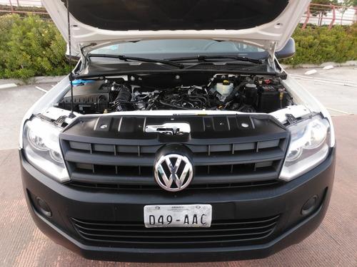 volkswagen amarok 2.0 entry mt 2015 impecable