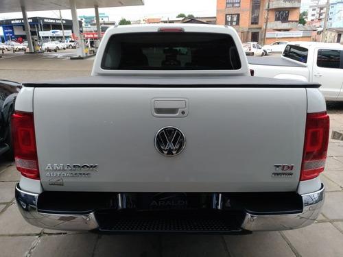 volkswagen amarok 2.0 highline 4x4 2015 branco diesel