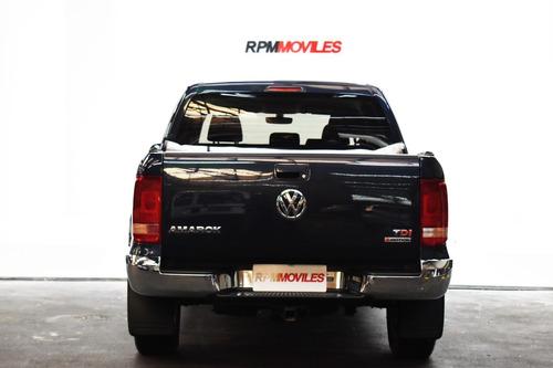 volkswagen amarok 2.0 tdi 180cv hl  at 4x4 2017 rpm moviles