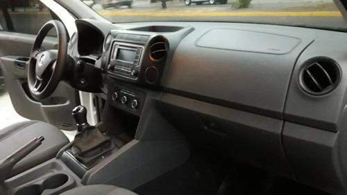volkswagen amarok 2.0 tdi 4x2 sc startline 2015