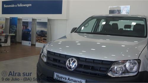 volkswagen amarok 2.0 trendline 4x2 mt cab dob tdi 140cv