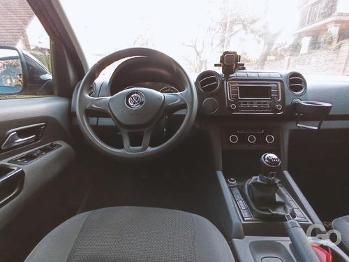volkswagen amarok 2.0 trendline tdi 2016 4x4 dc excelente