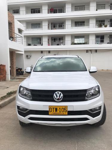 volkswagen amarok 2018 como nueva