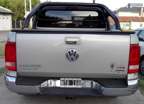 volkswagen amarok 2.0tdi 180cv higline pack aut.