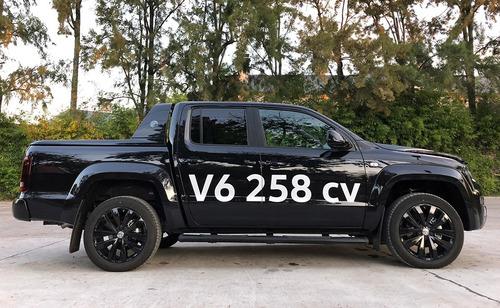 volkswagen amarok 3.0 v6 258cv highline 4x4 espasa #16