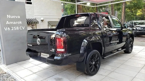volkswagen amarok 3.0 v6 black stayle 258cv  0% dni 84