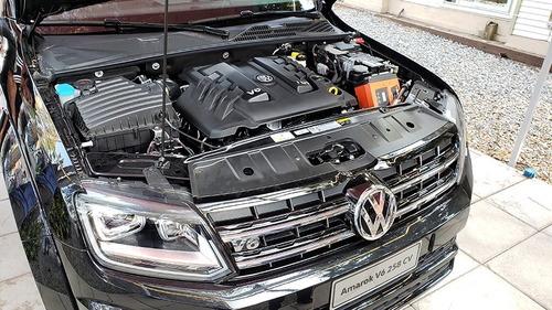 volkswagen amarok 3.0 v6 black style 4x4 automatica negra 21