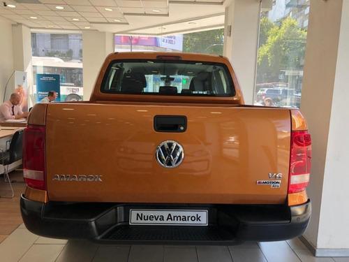 volkswagen amarok 3.0 v6 comfort 258cv 2020 0km 4x4 naranja