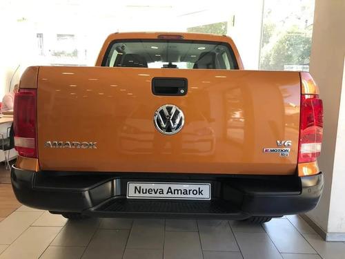 volkswagen amarok 3.0 v6 comfortline 258cv 4x4 fcio 0% 313