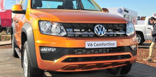 volkswagen amarok 3.0 v6 conforline 4 x 4 automatica bi turb