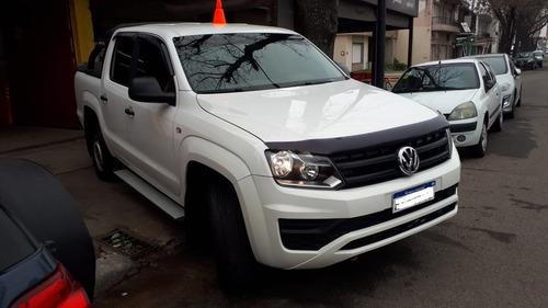 volkswagen amarok 4x2 con solo  57.000 km permuto dbellucio