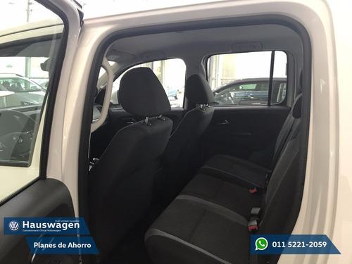 volkswagen amarok 4x2 nuevo 2017 trendline 0km ant + ctas