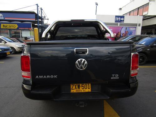 volkswagen amarok andina mt 2000cc 4x4 1td rin lujo