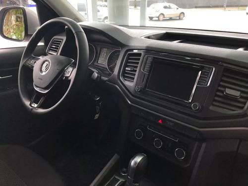 volkswagen amarok comfortline 4x2 man anticipo + cuotas fija