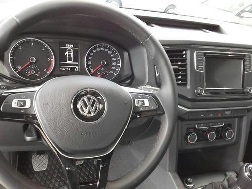 volkswagen amarok comfortline 4x2 manual 0km 2018