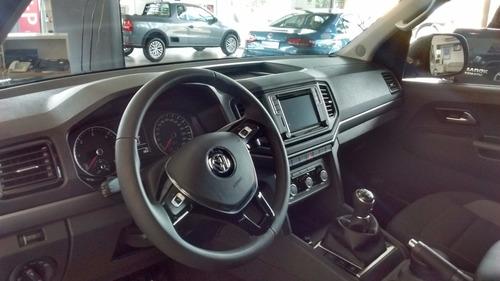 volkswagen amarok comfortline 4x4 caja manual tasa 0%