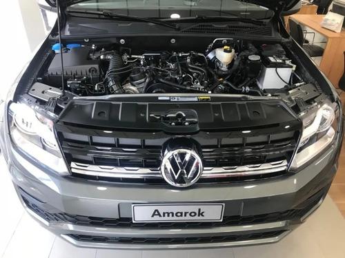volkswagen amarok confortline 4x2 m/t 0km blanca//plata