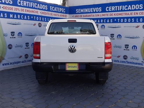 volkswagen amarok entry 4x4 blanco 2016