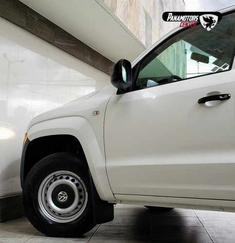 volkswagen amarok entry,td, tm6, a/ac., cd, r-16,blanco,2017