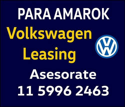 volkswagen amarok financio 0km 4x4 at te=11-5996-2463 high v