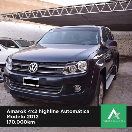 volkswagen amarok highline 2012