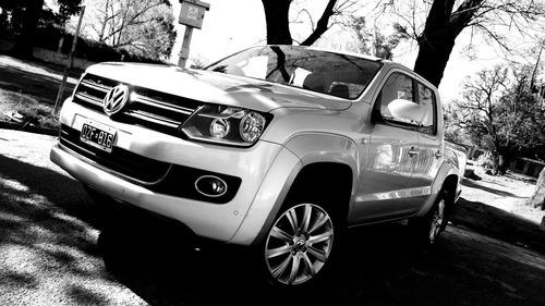 volkswagen amarok highline 2015 automatica 4x2 / inmaculada