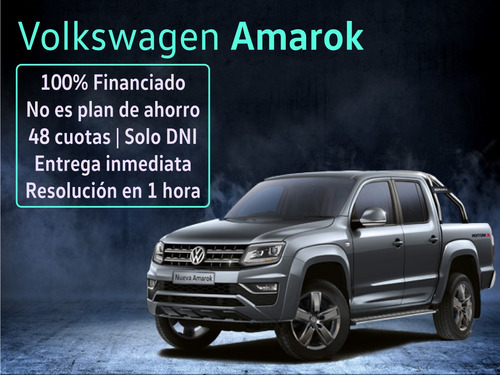 volkswagen amarok highline 4x2 at tel 1159962463 financio c9