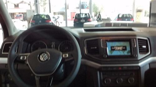volkswagen amarok highline 4x4 manual tasa 0% entrega inmed.