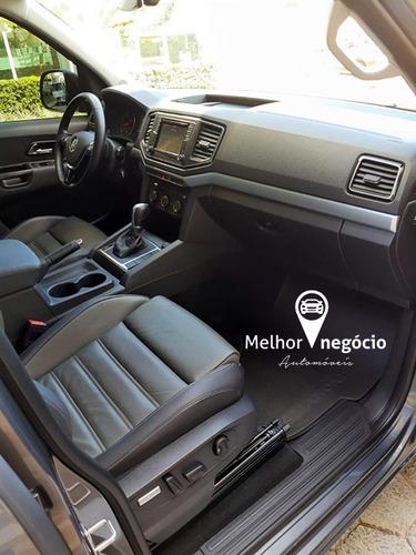 volkswagen amarok highline cd 3.0 4x4 diesel aut. 2018 cinza