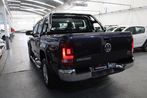 volkswagen amarok highline pack  4x4 4motion 2017 azul
