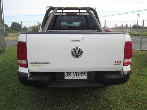 volkswagen amarok  trendeline 4x4 mt 2.0 2017