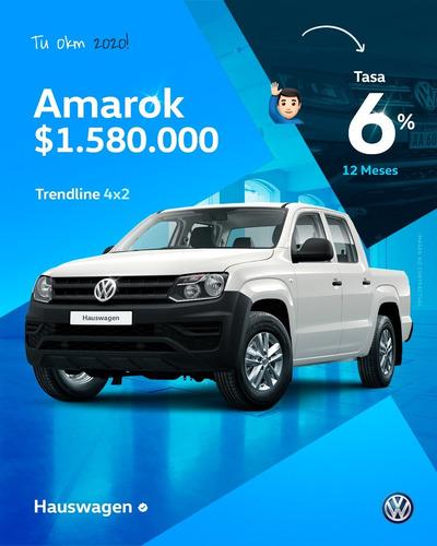 volkswagen amarok trendline 4x2 0km financiacion (2)