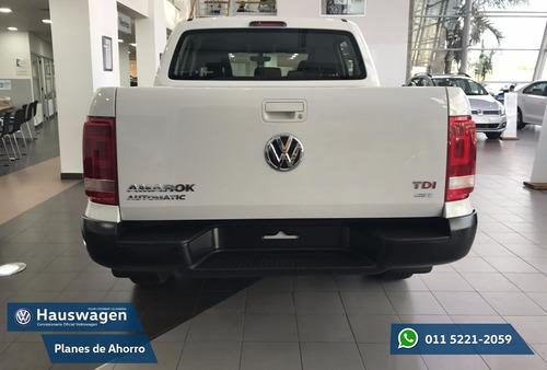 volkswagen amarok trendline 4x2 2017 0km anticipo + cuotas