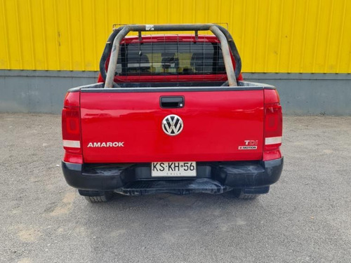 volkswagen amarok  trendline 4x4 2019