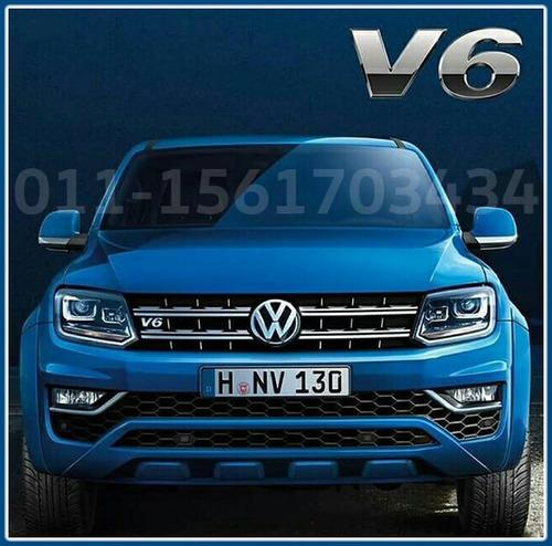volkswagen amarok v6 0km 2017 4x4 full 224cv alra diesel 3.0