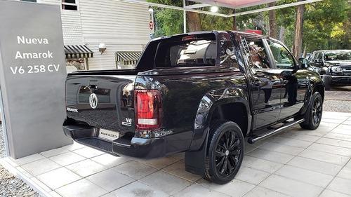 volkswagen amarok v6 258cv black style 0 km 2020 #22